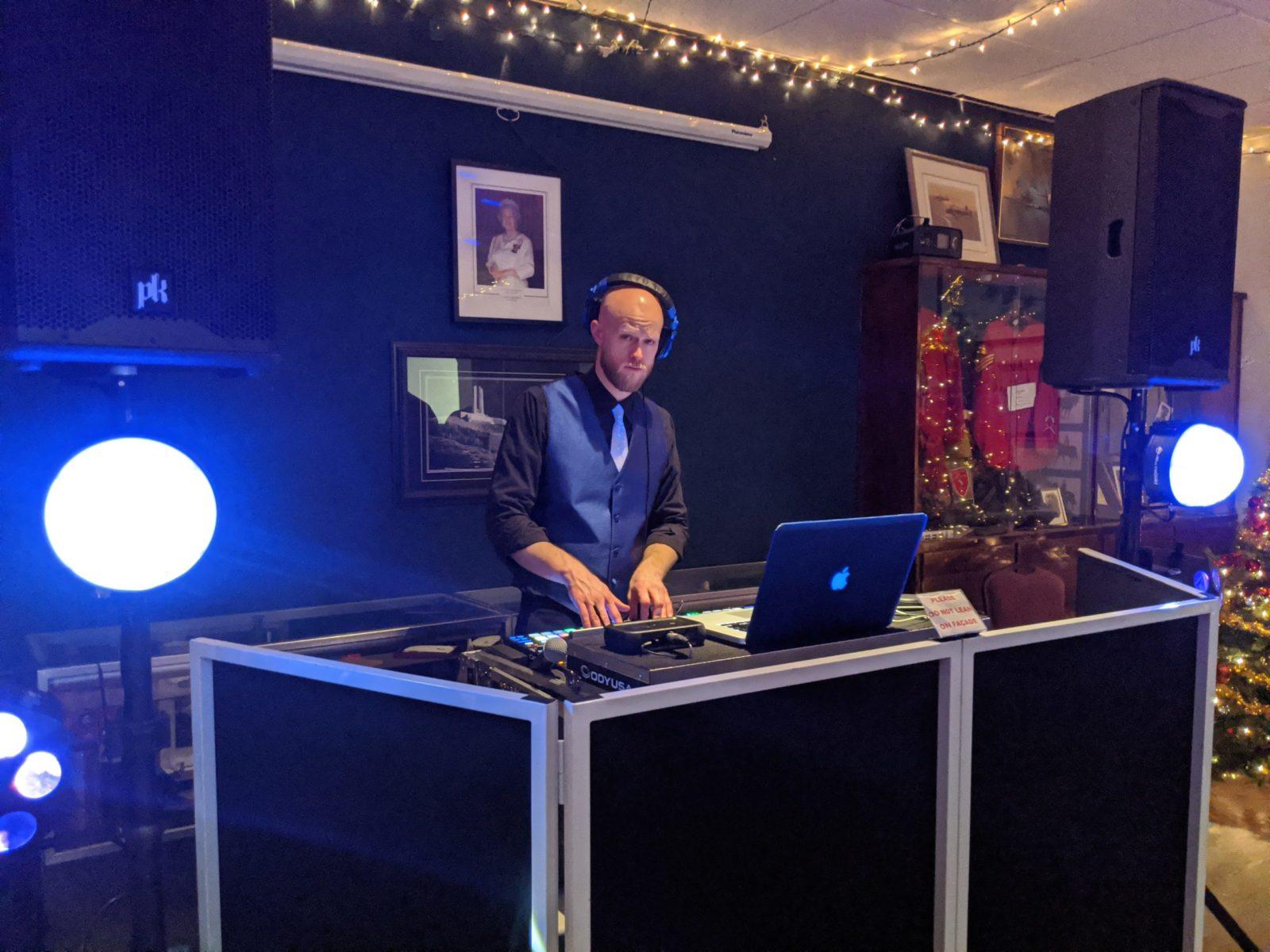 DJ Dance Floor Booth