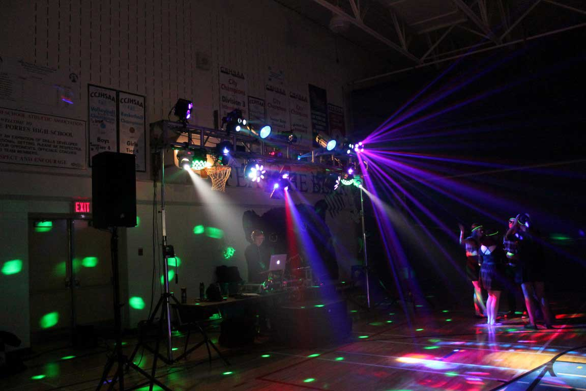 School Dance Lighting