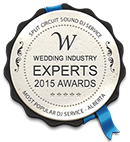 wedding experts award 2015
