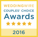 weddingwire couples choice award 2016