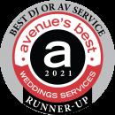 avenue best wedding dj service 2021